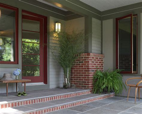 exterior paint colors with brick trim houzz