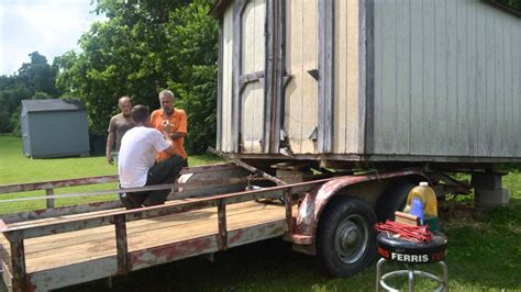 Shed Moving Trailer by Moving Shed