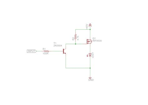 led pwm resistor transistor mosfet for pwm dimming of 30w rgb led electrical engineering stack exchange
