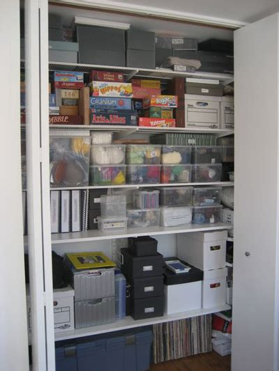 Storage Closet by Getting The Most Out Of Your Storage Closets Unclutterer