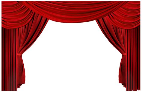 curtain all curtain call clipart clipground