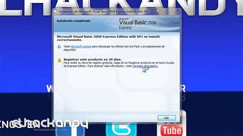tutorial visual basic express edition 2008 manual para visual basic 2008 express edition engineupload