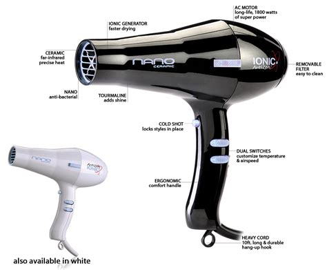 Hair Rage Out Dryer nano dryer artizen