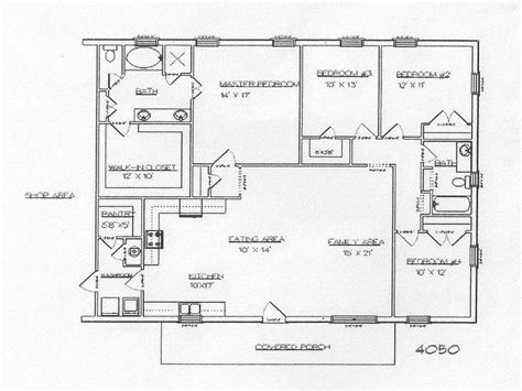 floor plans for 40x60 house metal building homes inside 40x60 metal building home