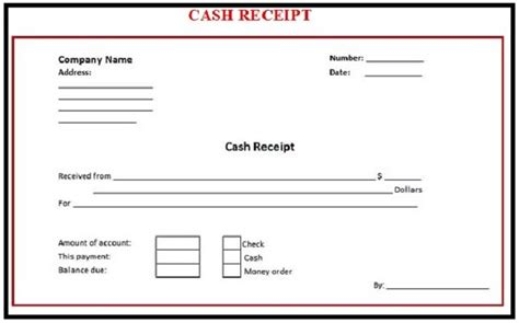 receipt template in word 8 payment receipt templates word excel pdf formats