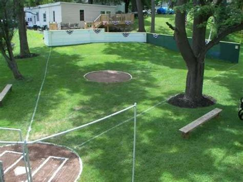 backyard wiffle ball field 29 amazing backyards cool backyard ideas for your house