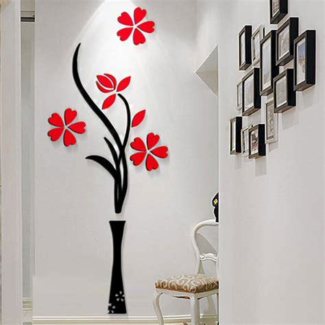 vase wall decal