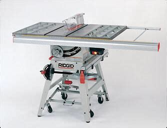 Rigid Table Saw Ts2424 Table Design Ideas