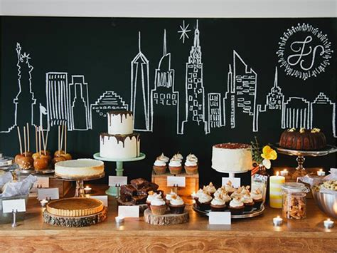 new york themed birthday party cake ink new york themed wedding party at our place
