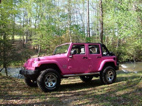 pink jeep lifted 24 best lifted jeep wranglers want images on pinterest