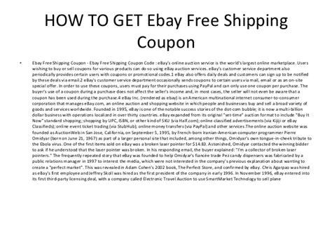 ebay free shipping ebay free shipping coupon ebay free shipping coupon code