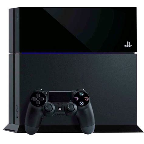 play station console playstation 4 sony preto consoles playstation 4 no