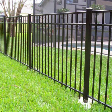 Top Aluminum Fence Manufacturers - aluminum flat top fence manufacturer china china high