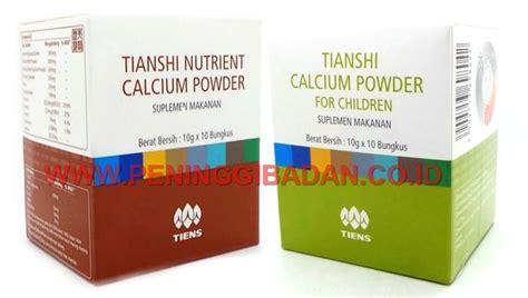 Suplemen Penggemuk Anak Nutrient Calsium Powder Nhcp manfaat kalsium nhcp dan zinc peninggi badan tiens nhcp