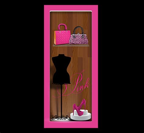 closet door decals door decals fashion closet pink