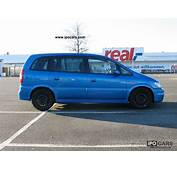 2002 Opel Zafira OPC 20  Car Photo And Specs