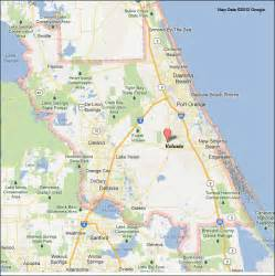 daytona map florida volusia county florida map