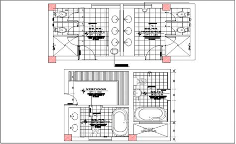 toilet layout plan dwg public toilet washroom plan view detail information