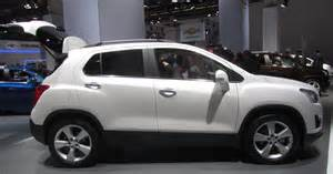 file chevrolet trax white side view w open hatch iaa2013
