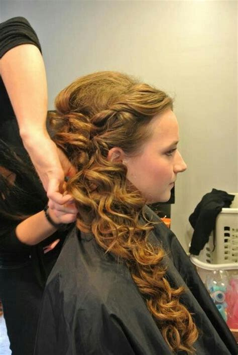 side ponytail prom hairstyles prom side ponytail hairstyles