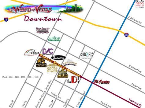 map of downtown las vegas the tueshaus family usa route 74