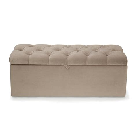 End Of Bed Storage Ottoman Bed End Ottoman End Of Bed Storage Benches Ottomans And Chests S Place White End Of The Bed