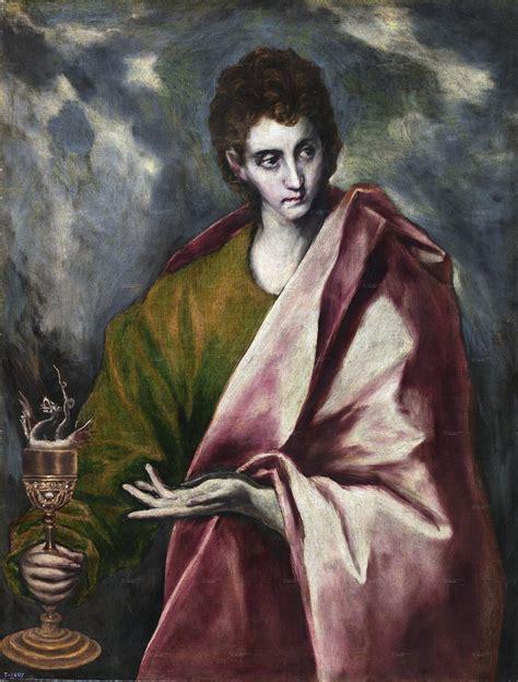 san juan apostol jpg file san juan evangelista el greco museo del prado jpg
