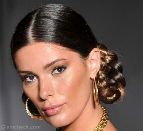 handouts on how to braid hair hairstyle how to looped side braids