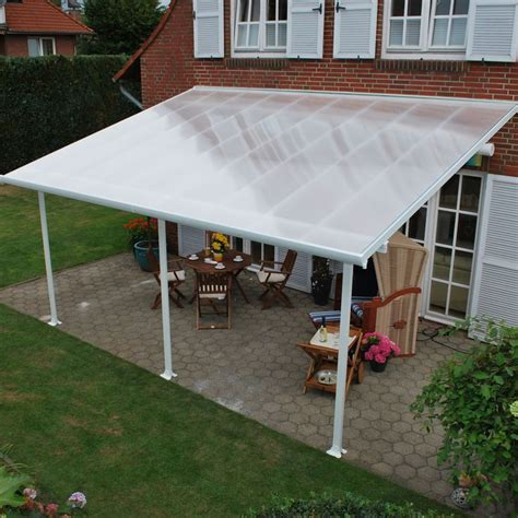 Diy Awning For Patio by Feria 10ft H X 20ft W X 10ft D Patio Cover Awning