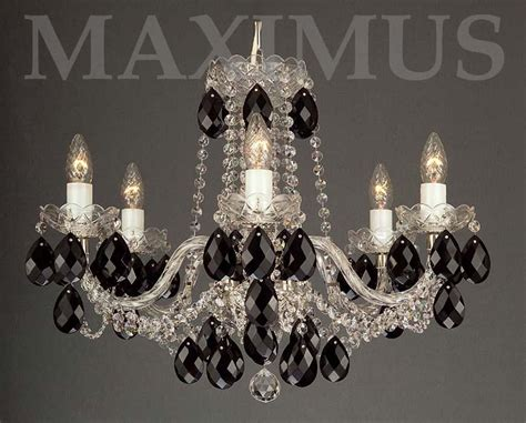 kronleuchter kristall schwarz kronleuchter schwarz haus renovieren