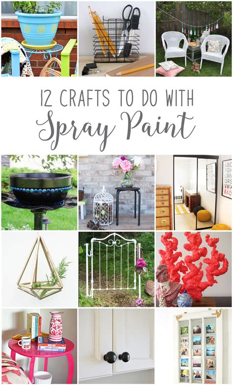 diy spray paint projects how to update your home on a budget with spray paint