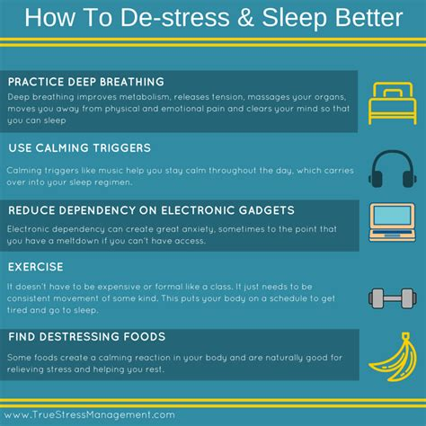 how to de stress you cat stress and sleep true stress management