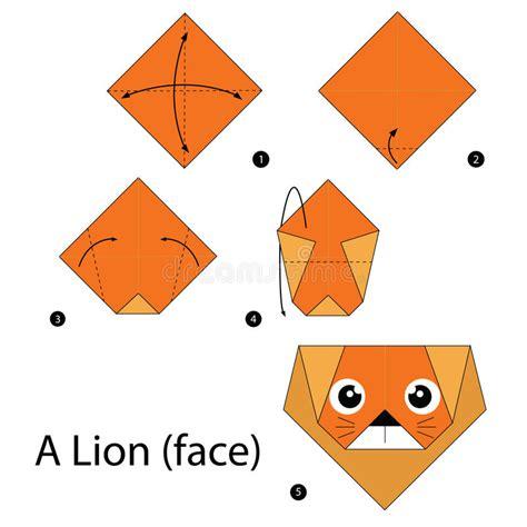 Comment Faire Un Cerf En Origami by Origami Tete Animaux Excellent Diy Cat Papercraft D