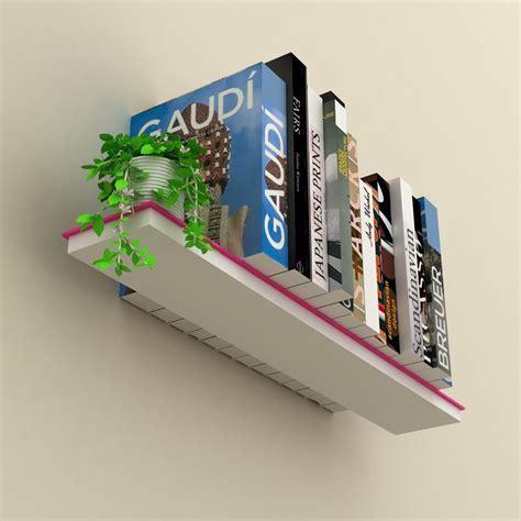 mensola libri mimetic set di 3 mensole muro a scomparsa porta libri
