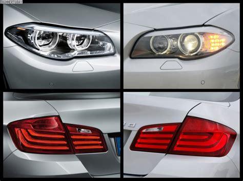 Bmw 1er Coupe Facelift Unterschiede by Bild Vergleich Bmw 5er Facelift 2013 Mit Pre Facelift F07