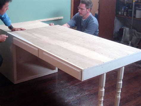 how to install a kitchen island with quartz top and built