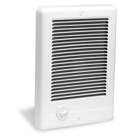 electric bathroom wall heater cadet com pak plus 9 in x 12 in 1500 watt 120 volt fan