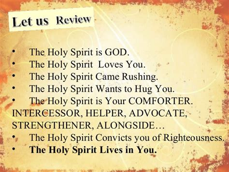 holy spirit be my comforter global awareness 101 let your voice be heard and get