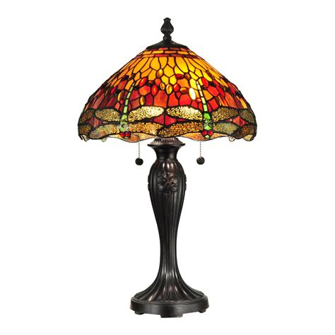 dale tiffany dragonfly table l dale tiffany tt12269 reves dragonfly table l atg stores