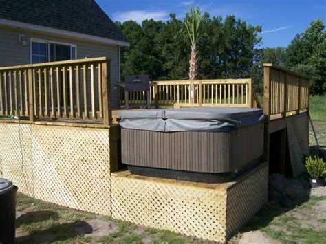 Patio Deck Designs Tub 78 Images About Tub Heaven On Tub