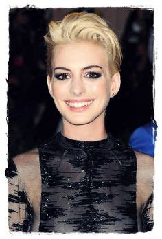 A Closer Look At The Oscars Hathaway by 1000 Images About Hairstyle On Bobs