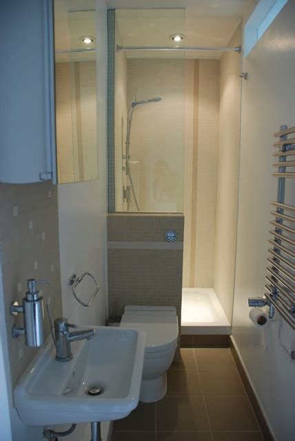 ensuite bathroom ideas small bijou and compact ensuite contemporary bathroom