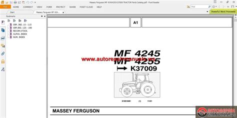 Massey Ferguson Mf 12 Parts Images Frompo 1