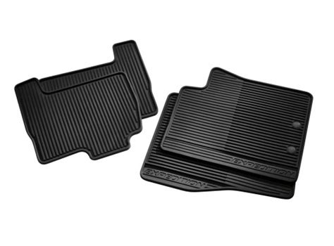 Discounted Motor Trend All Weather Floor Mats - ford freestyle rubber floor mats