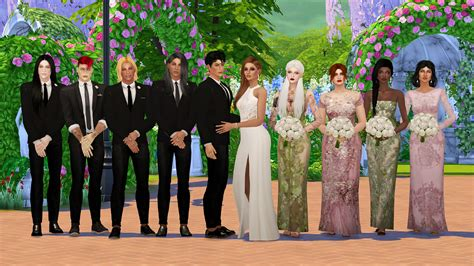 sims 4 wedding my sims 4 blog white wedding poses by eslanes