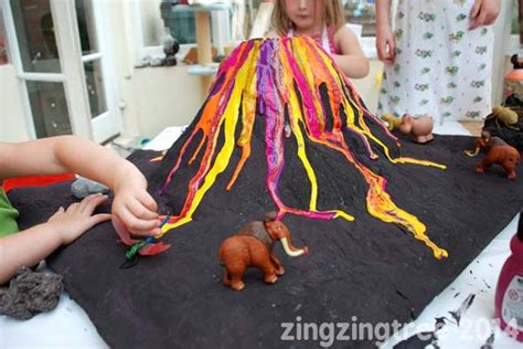 A Volcano Out Of Paper Mache - 10 ways to make a volcano with inspiration laboratories