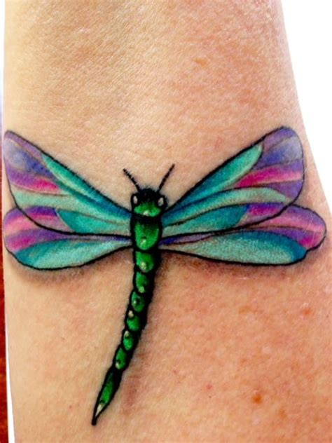 electric blue tattoo dragonfly tattoos and and 3d on