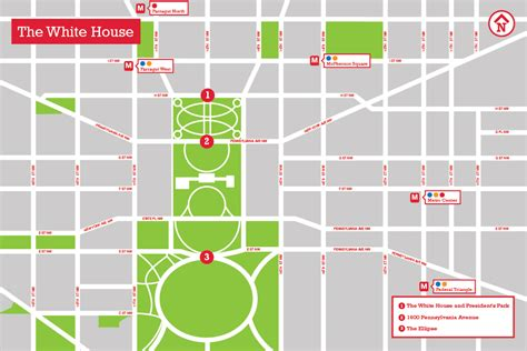 directions to the white house the white house the landscape architect s guide to washington d c