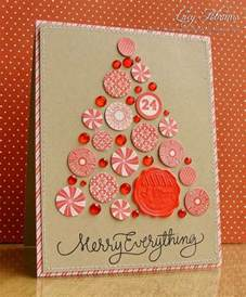 60 handmade christmas cards pink lover