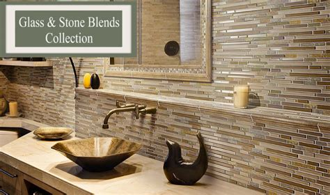 Brick Kitchen Backsplash by Glass And Stone Kitchen Backsplash Tile Bathroom Tile